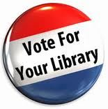 Vote for the Library button